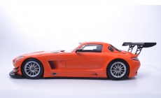 Mercedes-Benz SLS AMG GT3 Street-2011 Orange